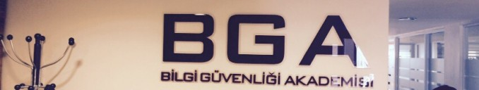 BGA İç mekan tabela uygulaması