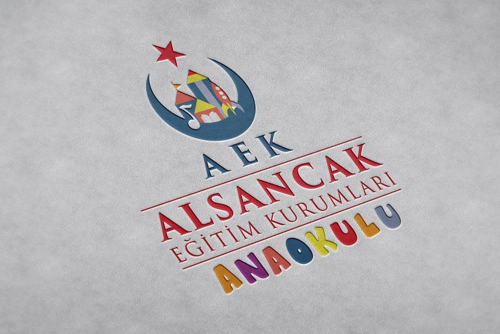 Logo Tasarımı Alsancak Anaokulu