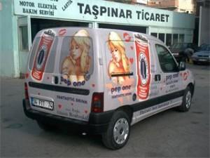 araç kaplama giydirme örnekleri
