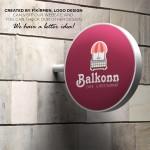 Logo Tasarım Balkonn Cafe