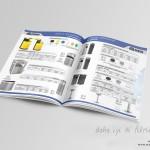 Domaks Metal Katalog Tasarımı