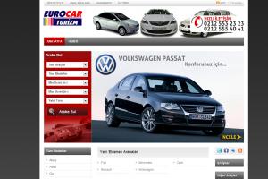 Euro Rentacar Web tasarım