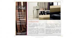 Faruk Tekstil Web tasarım