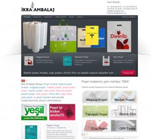 ikra-ambalaj Web tasarım