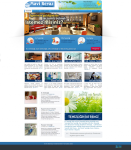 Mavi Beyaz Web tasarım