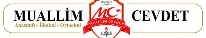 Muallim Cevdet Ortaokulu Logo Tasarımı