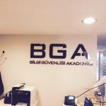 BGA iç mekan tabela