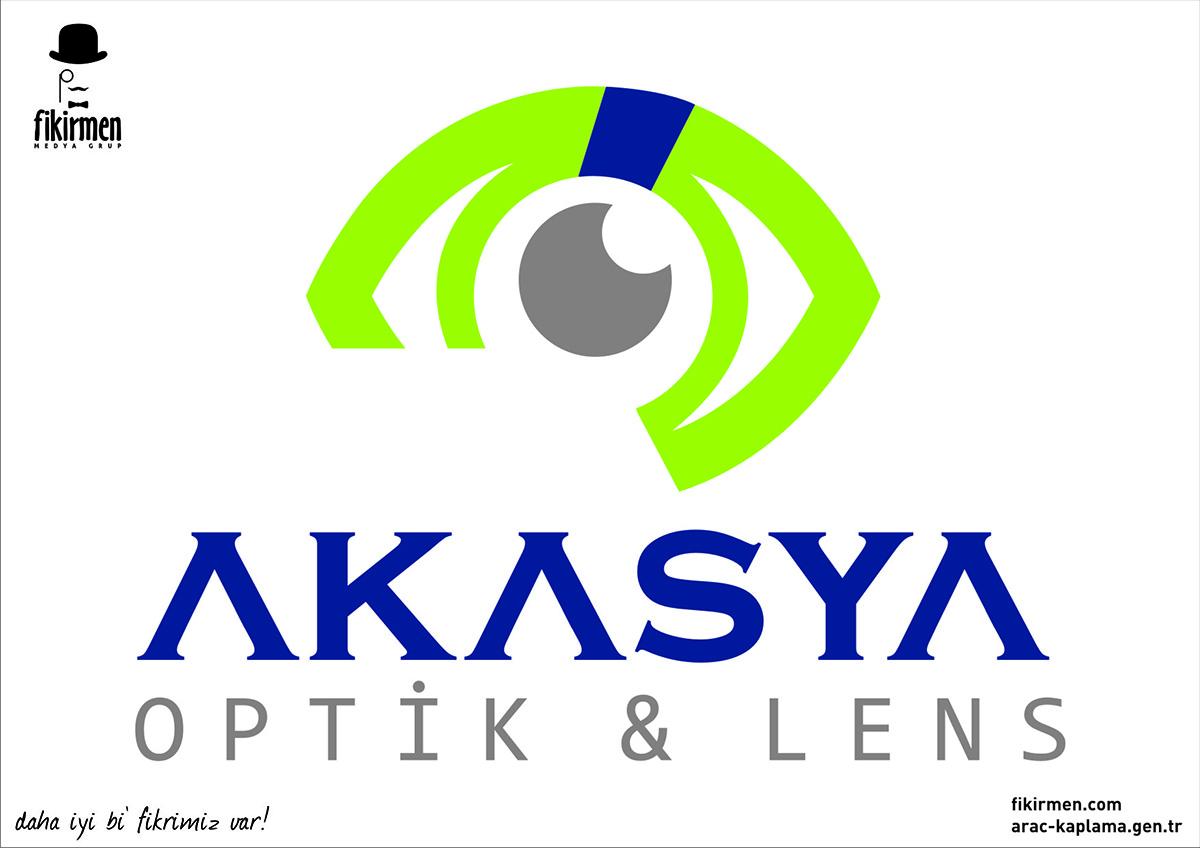 akasya optik logo vasyasyon
