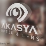 akasya optik logo cam uygulama