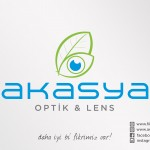 akasya optik logo tasarım