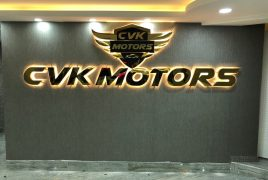CVK Motors İç Mekan Tabelası