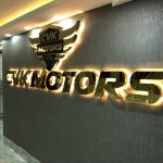 CVK Motors Ofis Tabelası